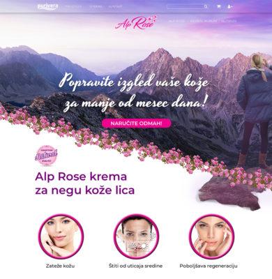 Landing Page Design – AlpRose