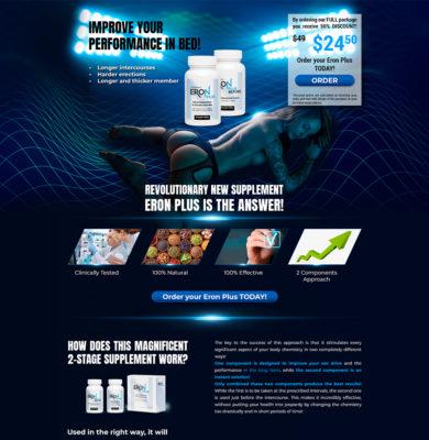 Landing Page Design – EronPlus